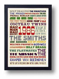 Peel's 1986 Festive 50 Indie Music