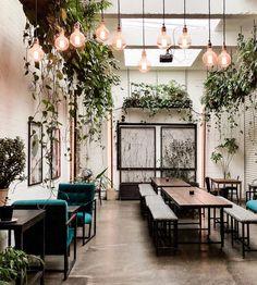 Home Decoration Design Ideas Info: 5082872613 Coffee Shop Design, Cafe Design, Deco Restaurant, Cafe Concept, Cottage Interiors, Shop Interiors, Restaurant Interior Design, Colorful Interiors, Living Room Designs