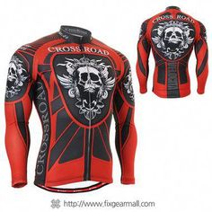 FIXGEAR CS-19R1 Men s Cycling Jersey long sleeve 345fa733d