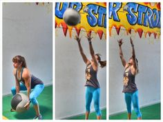 underhanded med ball throw for height Kettlebell Hiit, Medicine Ball, Strength, Exercise, Workout, Ejercicio, Work Out, Tone It Up, Work Outs