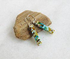 Baltic amber mosaic amber mosaic earrings amber mosaic