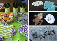 Zoo birthday themed idea