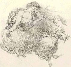 From Dante's Inferno, Paulo and Francesca by Barry Windsor Smith.