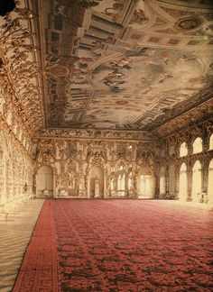 "historyofromanovs: "" Rare colour auto-chrome of the Ballroom in the Catherine Palace as it looked in 1917. Photo: Tsarskoye Selo State Museum Preserve Source """