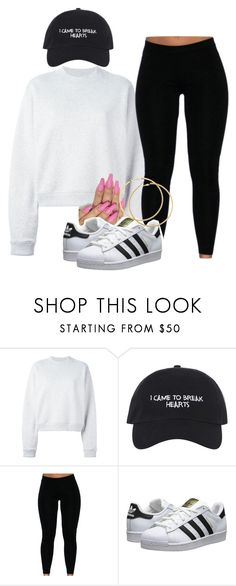 """Untitled #1446"" by melaninprincess-16 ❤ liked on Polyvore featuring Acne Studios, adidas Originals and H&M"