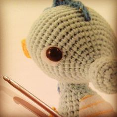After a long weekend of #studyingbutwanttochrochet i deserve a little crochet time. I'm making this little cutie from zoomigurumi 4. I'm watching my mailbox for zoomigurumi 5 i've won a copy with pattern testing. But for now this seahorse is keeping me happy :) #zoomigurumi #amigurumipatterns #crochet #haken #hekle #häkeln #virka #instacrochet #hakeniship by zusenfluf