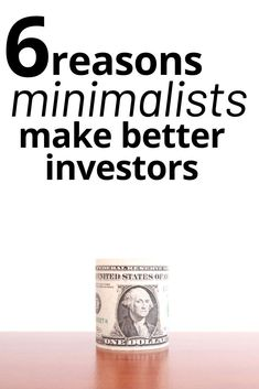 6 Reasons Minimalist Might Make Better Investors Budgeting Finances, Budgeting Tips, Ways To Save Money, Money Tips, Living On A Budget, Frugal Living, Scary Words, Stock Market Investing, How To Start A Blog