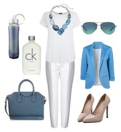 A fashion look from February 2016 featuring plus size womens shirts, blazer jacket and zipper pants. Browse and shop related looks. Stella Mccartney, Givenchy, Tiffany, Calvin Klein, Women's Clothing, Female, Shoe Bag, Woman, Clothes For Women