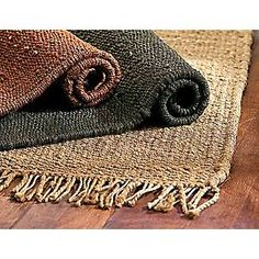 Hemp rug - It is a renewable resource that's naturally resistant to stains, mould, and bacteria