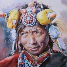 Image result for tibetan modern art