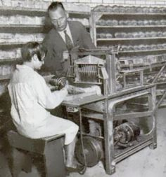 """The bread slicer was invented on July 26th, 1927. The slicer was invented by Otto Frederick Rowedder living his life in Iowa. He worked on it since 1912. The machine could successfully cut and wrap a loaf of bread. """"Alex-Jordan"""""""