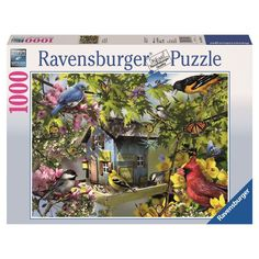 Ravensburger 1000 Piece Time for Lunch Puzzle - 0744-0902