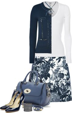 """Floral (II)"" by partywithgatsby ❤ liked on Polyvore"