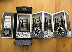 accordian photo pocket