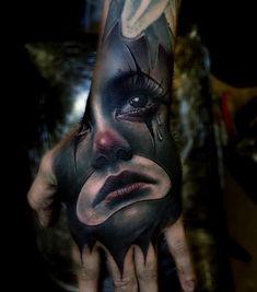 Hand Tattoo by Sam Barber