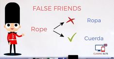 False Friends by CLASINGELTS.com English Tips, Learn English, English Vocabulary, English Grammar, False Friends, Spanish Language Learning, France, Languages, Activities