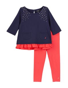 Shop today for Nautica 2-pc. Polka Dot Leggings Set – Girls 4-6x & deals on Sets! Official site for Stage, Peebles, Goodys, Palais Royal & Bealls.