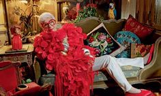 Iris Apfel; An original Quirky Girl