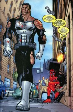 Deadpool vs The Punisher....