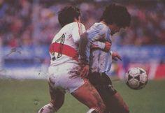 Reyna y Maradona. Eliminatorias al Mundial 86