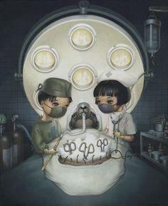 """Teddy Bear Operation"" by Trevor Brown."
