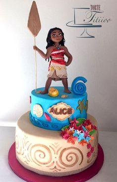 MOANA CAKE - AMAZING