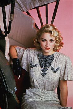I'm just picking up inspiration from everywhere, why not start with the legendary Madonna.