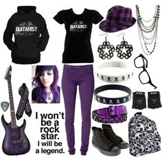 """Meet The Guitarist!"" by xxxburningcoldxxx on Polyvore"