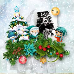 Christmas Tale by Butterfly Dsign http://www.mymemories.com/store/display_product_page?id=BDIF-CP-1611-116773