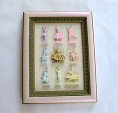Marie Antoinette Inspired Pastel Painted Vintage by Fairyhome
