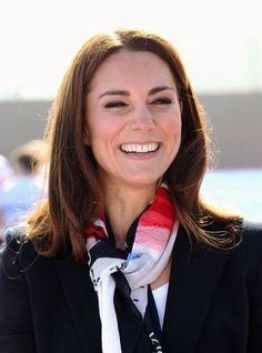 Kate Middleton - Kate Middleton Takes a Whack at Field Hockey