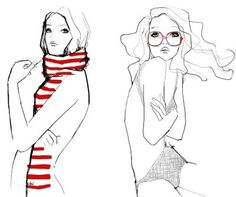 51308e02b58ac 46 Best Fashion Doodles ♥♥♡♡ images in 2013 | Doodles, Fashion ...