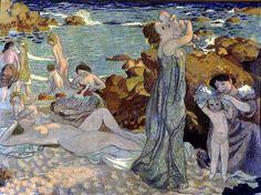 Maurice Denis - Baigneuses plage du Pouldu