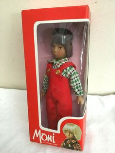 29.99 1980's MONI Doll by Uranium (swizerland) BOXED | eBay