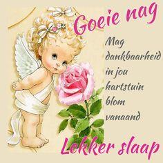 Good Night Blessings, Goeie Nag, Afrikaans Quotes, Good Night Sweet Dreams, Beautiful Landscapes, Qoutes, Aurora Sleeping Beauty, Night Night, Sleep Tight