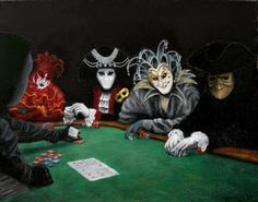 Poker Face Painting