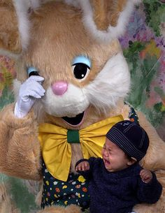 You made the easter bunny cry