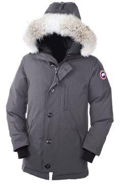 Canada Goose toronto sale official - Parka navy capuche vraie fourrure Montebello Canada Goose pour ...
