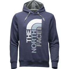 The North Face - Trivert Pullover Hoodie - Men's - Cosmic Blue Light Heather /Worn Blue Multi