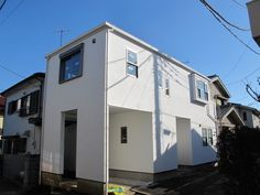 Cubic house at 藤沢市  http://smatan.jp/sc/ad:135.tp:2.html