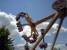 Hershey Park (and been on this ride--the claw)