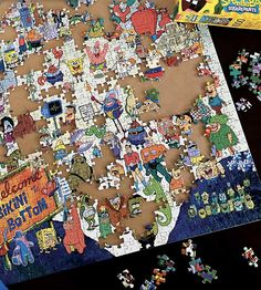 AQUARIUS  puzzles are both a reflection of today's favorites and a nod to the past and are designed to entertain young and old alike.