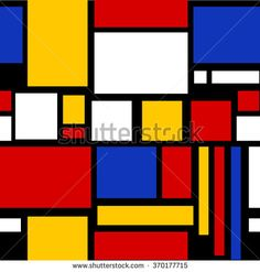 Abstract geometric colorful pattern for continuous replicate vector  mondrian, wallpaper, cross, parallel, square, abstractionism, rectangle, white, red, intersection, geometry, yellow, vector, line, crossover, bright, tiled, element, graphics, black, shape, repeat, abstract, modern, box, scroll, illustration, geometric, divide, decorative, frame, backdrop, texture, design, color, trendy, perpendicular, colorful, blue, poster, grid, art, artistic, style, background, pattern, repetition, pop