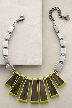 Pono Lichen Fringe Necklace #anthrofave