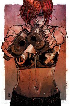 — Maleev's Scarlet [cyberpunk] Comic Book Artists, Comic Artist, Comic Books Art, Comic Book Drawing, Character Drawing, Comic Character, Character Design, Cyberpunk, Comic Anime