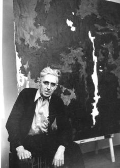 I fell so hard for one of his pieces in his museum last week.  I actually wanted to press my whole body up next to it to absorb its energy.  Clyfford Still; abstract expressionism