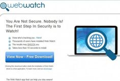 What is Web Watch? Is it really a useful application that helps secure your privacy when surfing online? We are afraid that this just isn't the case.  http://www.vblaze.com/remove-web-watch-adware-working-removal-guide/