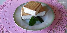 Domáca ruská zmrzlina (fotorecept) - recept | Varecha.sk Cheesecake, Frozen, Goodies, Pie, Ice Cream, Desserts, Leto, Food, Sweet Like Candy