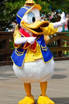 Donald Duck, Disney