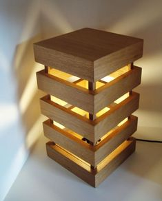 37 Cheerful Diy Wooden Lamp Designs To Spice Up Your Living Space - Lighting has become a more prominent feature in rooms for interior design these days, with many showing interest in lamps, classical and innovative. Bois Diy, Into The Woods, Diy Holz, Wood Lamps, Diy Wood Projects, Easy Projects, Wooden Diy, Light Fixtures, Spice